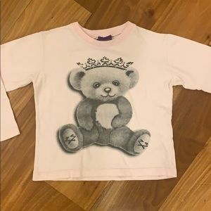 NWOT Long sleeve bear shirt